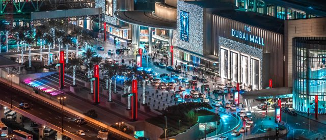 The Dubai Mall, largest shopping center in the world!