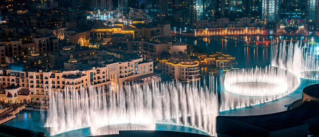 Dubai Fountain and Lake Ride, guide & tickets